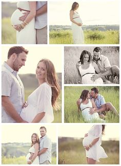 Maternity. He photo of kissing.