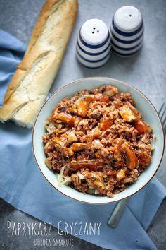 Paprykarz gryczany Buckwheat fish pate #Buckwheat #fish #pate Buckwheat, Soups, Fish, Chicken, Party, Recipes, Diet, Pisces