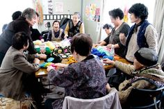 women crochete together enjoy - Google Search