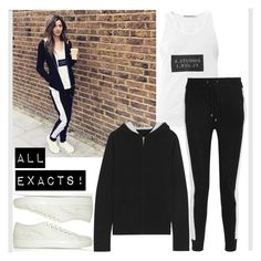 """ELEANOR CALDER INSPIRED OUTFIT <3"" by costina-raftu ❤ liked on Polyvore featuring Common Projects, Acne Studios and Banjo & Matilda"