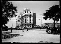 Edificio Titanic en la Glorieta de Cuatro Caminos, 1920.