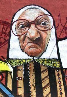 Street Art: Belin. #Belin #Victoriansecrets