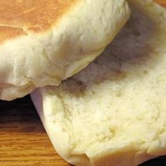 Bolo Levedo.  This is a english muffin type of bread, only it's sweet.  It's like sweetbread, yet different.  Sooo yummy.