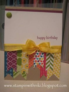 Happy Birthday by n toll - Cards and Paper Crafts at Splitcoaststampers