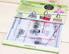 Craft Tool Review: Nancy's Hobo Tote Collection Trace 'n Create Bag Templates from Clover USA Nancy Zieman, Mk Bags, Best Christmas Gifts, Crafty, Templates, Purses, Usa, Sewing, Collection