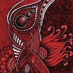Blooming Red 1 by Artwyrd.deviantart.com on @deviantART