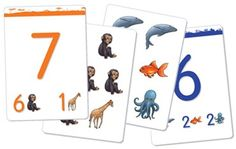 Teach Your Child to Count to 10 - Math & Logic #1 is the first pack of ChildUp Early Learning Game Cards, a series of educational tools for parents, caregivers, and early teachers who intend to develop, by playing in an interactive way, the learning and intellectual skills of their children and to best prepare them for school and future academic excellence.