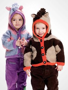 Knitting - Patterns for Children & Babies - Horsin' Around
