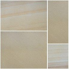 Smooth Natural Sandstone in Fine Buff Textured*