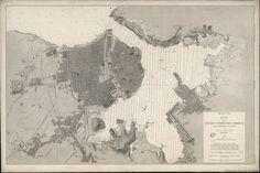 E. Fungairiño, Plano de la Ciudad y Puerto de La Habana segun los trabajos españoles mas recientes, 1879, Madrid