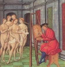 Bildergebnis für medieval painting brush