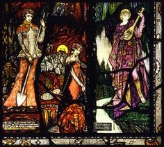 Harry Clarke, The Geneva Window, Panel 8