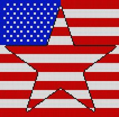 how to make a rebel flag in minecraft