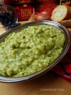 Risotto broccolo e acciuga Gnocchi, Quinoa Rice, Chicken Wing Recipes, Savoury Dishes, Italian Recipes, Macaroni And Cheese, Good Food, Food Porn, Food And Drink