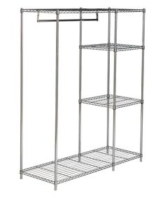 Take a look at this Johnson Adjustable Chrome Wire Garment Rack today!