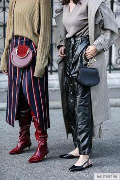 Outside Dries Van Noten / Paris Fashion Week SS18 #parisfashionweeks,