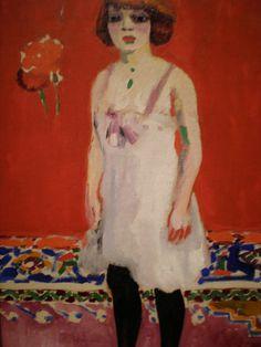 Cornelis Theodorus Maria van Dongen (aka Kees van Dongen or Van Dongen 1877~1968)   Fauvism