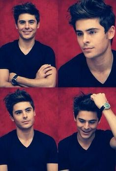 Zac Efron - Young & Cool Hairstyle