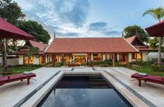 4 Bedroom Villa in Bophut Koh Samui, Mountain View, Trip Advisor, Terrace, Cottage, Cabin, Vacation, Luxury, House Styles