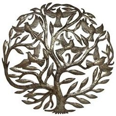 Birds are often depicted in images of the Tree of Life. I like this because my maiden surname is the German word for bird. They make nice symbols of my family tree.
