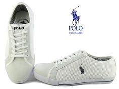Polo Ralph Lauren Mesh Sneaker White