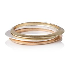 Buy the Set of Three Ryle Organic Curved Bangles at Oliver Bonas. Enjoy free worldwide standard delivery for orders over £50.