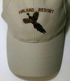 Primland Resort Pheasant Cap Virginia Wild Game Sport Hunting Program Beige  Hat  Richardson  203 21594583d5a0