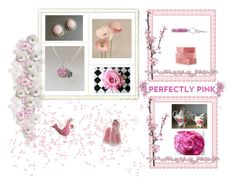 """""""Pink gifts"""" by keepsakedesignbycmm ❤ liked on Polyvore featuring Royal Stafford, Scialle, jewelry, accessories and decor"""