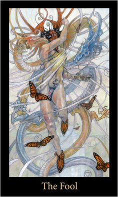 The Fool, The Mary-el Tarot. Now THIS deck I would actually use.