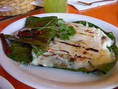 Queso Fundido - house blend of panela, oaxaca, cotija, and queso fresco with a touch of epazote. It's perfect over a bed of roasted nopal