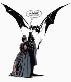 Dracula and Mina by Mike Mignola