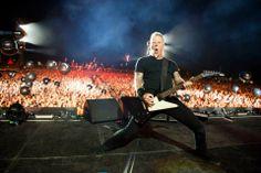 June 2013 - Roskilde by Ross Halfin - Metallica James Metallica, Ron Mcgovney, Robert Trujillo, Dave Mustaine, James Hetfield, Top Of The World, Close Image, Hard Rock, Heavy Metal