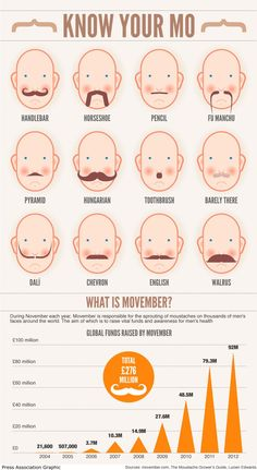Know Your Mo Infographic(I am not a mustache fan, give me a clean shaven man every time!)  NOW- just go find your job at FirstJob.com for your entry-level jobs and internships.www.firstjob.com #firstjob #careers #recruiters #jobs  #joblistings #jobtips #interview  #Jobhunter #jobhunting  #humanresources #hr #staffing  #grads #internships #entrylevel #career #employment