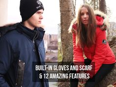 Smart Parka - The World's First Complete Winter Coat project video thumbnail