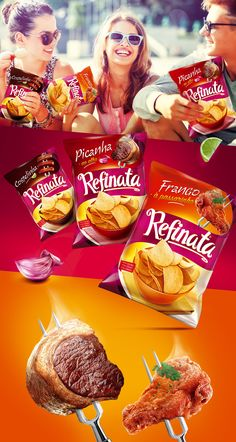 """Check out this @Behance project: """"Batatas Refinata"""" https://www.behance.net/gallery/47315559/Batatas-Refinata"""