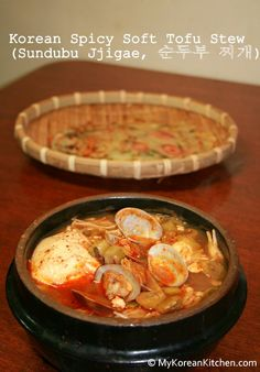 ... about Korean food on Pinterest   Spicy, Tofu noodles and Korean kimchi