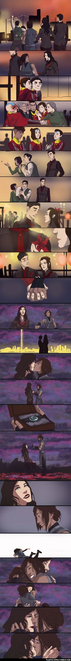 Korrasami Anniversary by plastic-pipes.deviantart.com on @DeviantArt