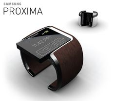 Samsung Proxima was a smartwatch concept that featured a wearable unit with a proximity sensor which allowed the user to easily locate their phone. This project was a collaborative effort with Samsung Design America.Samsung Proxima was featured in Short… Men's Watches, Luxury Watches, Cool Watches, Watches For Men, Fashion Watches, Wearable Technology, Technology Gadgets, Materiel Camping, Best Phone