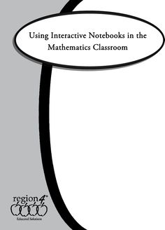 Using Interactive Notebooks in a Math Classroom by Sherry Olivares (2011) eBook | Scribd