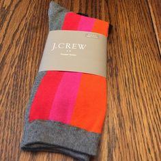 JCrew trouser socks Brand New 66% cotton Perfect for winter wear  J. Crew Accessories Hosiery & Socks