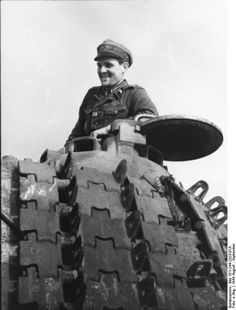 Commander on Panther tank ;)