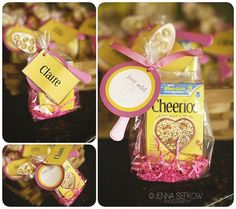 Birthday Party Favor...cute idea for a party with little, little ones :)