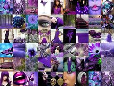 Decorating With Purple - 25 Gorgeous Interior Design Pictures - Style Estate - Purple Art, Purple Love, All Things Purple, Shades Of Purple, Deep Purple, Purple Style, Magenta, What's My Favorite Color, Interior Design Pictures