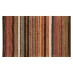Buy John Lewis Multi Stripe Rugs, Bold Online at johnlewis.com