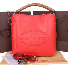 Louis Vuitton 2014 SS Veau Soie Leather Bagatelle M94352 Capucine