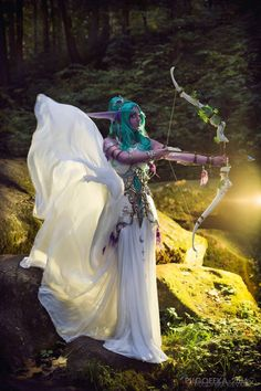 Fantastic Tiranda cosplay from World of Warcraft by Yoyo Photo by Pugoffka
