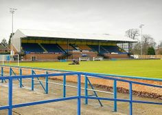 Another ground protected at Kings Lynn Town - thanks to the Blue and Gold Supporters Trust. Football Stadiums, Basketball Court, Walking, Landscape, Places, Sports, Trust, Gold, Blue