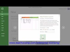 A clip from Mastering Microsoft Project Made Easy:  Creating New Projects. Get a FREE demo of our training for groups of 5 or more at www.teachucomp.com/enterprise-licensing/  Visit us today! www.teachucomp.com