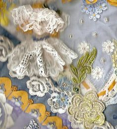 CRAZY QUILTING INTERNATIONAL: Luscious Lace