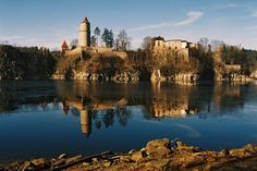 Zvikov Castle, Zvíkovské Podhradí, Czech Republic